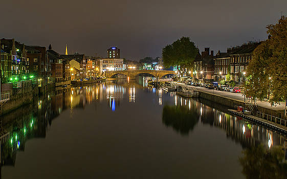 Lights On The Ouse by Gemma Greaves
