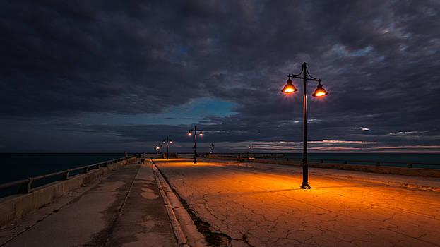 Rick Strobaugh - Lights on the Pier
