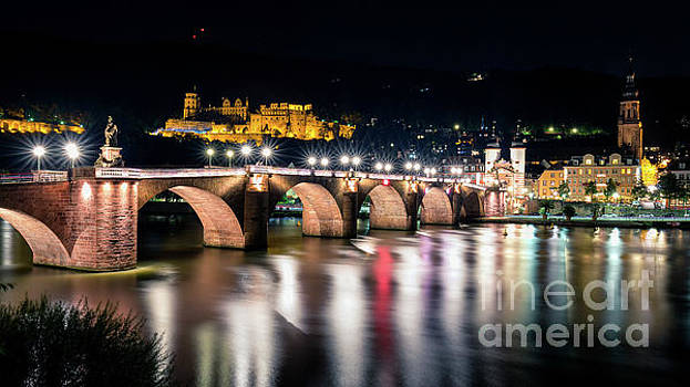 Lights under the Bridge by Giuseppe Torre