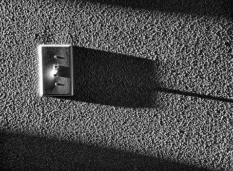 Lightswitch Shadow by Kevin Felts
