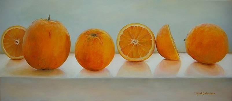 Ligne d Oranges by Muriel Dolemieux