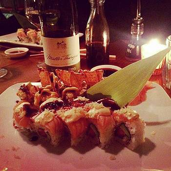 Like A Poesy.. #food #sushi #milan by Marco Capo