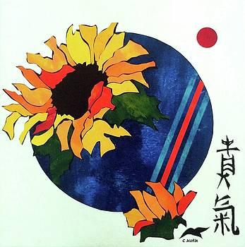 Like The Sunflower, Honor Your Inner Strength by Charleen Martin