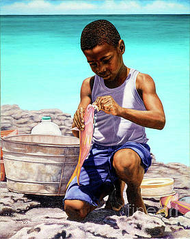 Lil Fisherman by Nicole Minnis