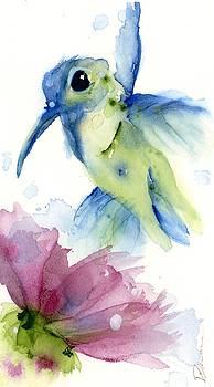 Lilac and Blue by Dawn Derman
