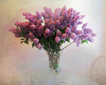 Bedros Awak - Lilac Vase On Table