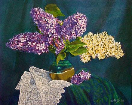 Lilacs and Lace by Cynthia Snider