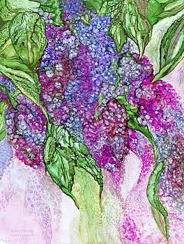 Lilacs Flowing by Carol Cavalaris