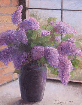 Lilacs by Katherine Seger