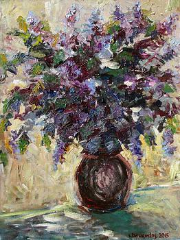 Lilacs by Liudvikas Daugirdas