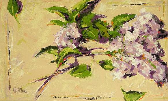 Lilacs by Mary McInnis
