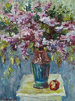 Lilacs with Apple by Liudvikas Daugirdas
