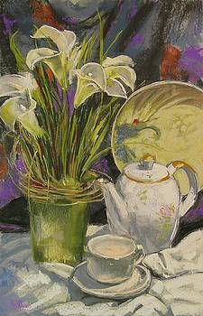 Lilies and White by Mary McInnis