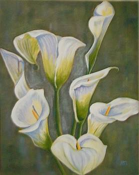 Lilies by Antoinette Marlow