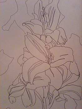 Lilies by Crystal N Puckett