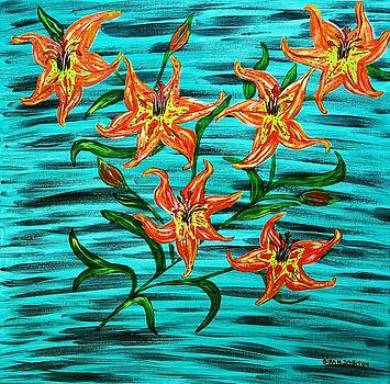 Gina Nicolae Johnson - Lilies