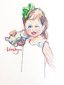 Candace Lovely - Lillian with her Bunny