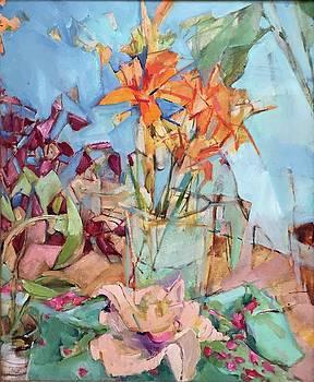 Lillies by Abbie Rabinowitz