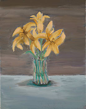 Lillies by Carmela Cattuti