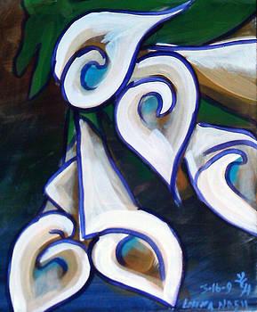 Lillies by Loretta Nash