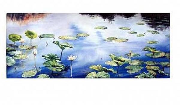 Lilly Pad Pond by Kris Killman
