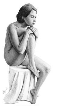 Joseph Ogle - Lily A seated study