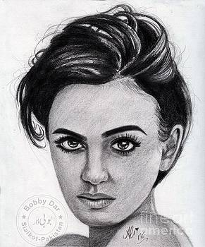 Lily Collins by Bobby Dar