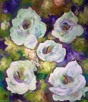 Patricia Taylor - Lily Garden with Shadows and Light
