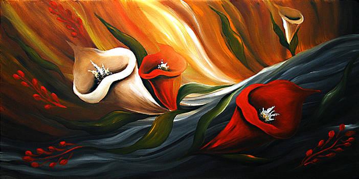 Lily in Flow by Uma Devi
