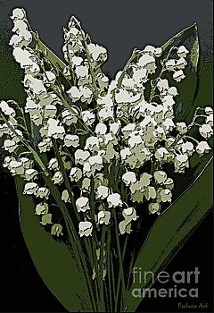 Lily of the Valley by Dragica Micki Fortuna