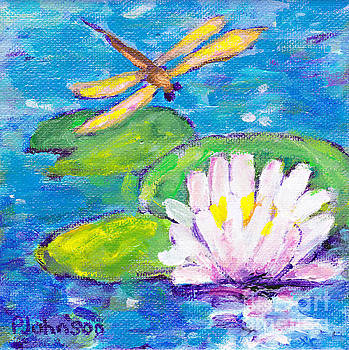 Peggy Johnson - Lily Pad Guest by Peggy Johnson
