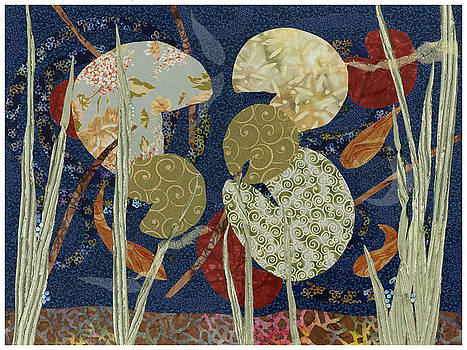 Lily Pond by Julia Berkley