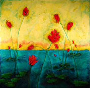 Lily Pond by Marabeth Quin