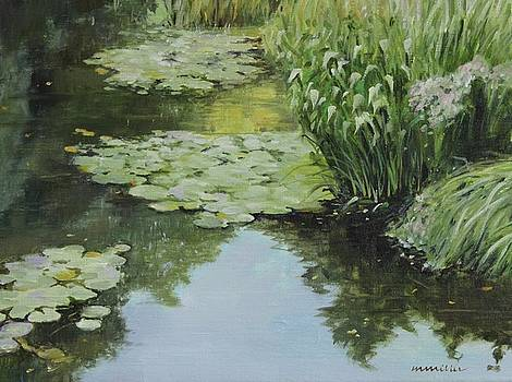 Lily Pond by Maralyn Miller