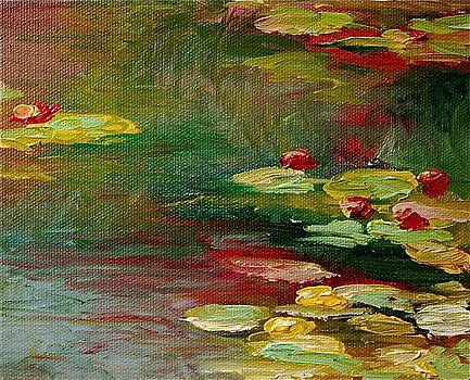 Lily Pond by Martha Layton Smith