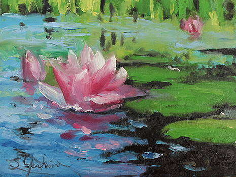 Lily Pond by Susan Jenkins