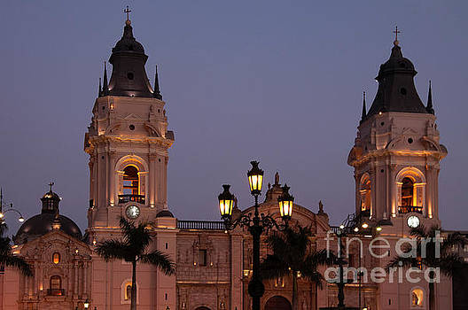 Bob Phillips - Lima Cathedral Twin Towers Two