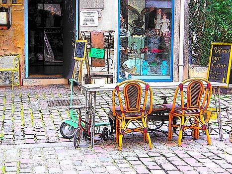 Jan Matson - Lima select antique store in Paris