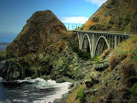 Joyce Dickens - Lime Creek Bridge Highway 1 Big Sur CA Two