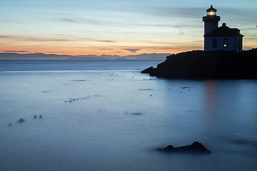Lime Kiln Light House // San Juan Island by Kirsten Dale