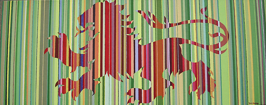 Limey Lion by Julia Raddatz
