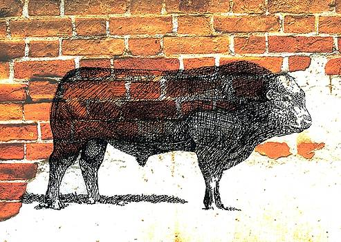 Limosine Bull by Larry Campbell