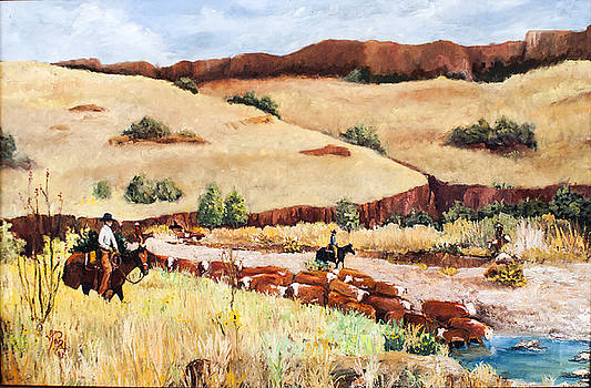 Limpa Creek West by Toyah Taylor