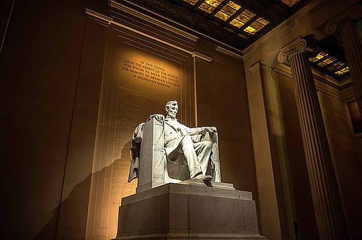 Lincoln at Night by Cathie Crow