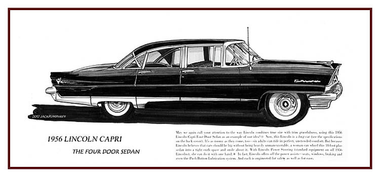 Lincoln Capri 1956 by Jack Pumphrey