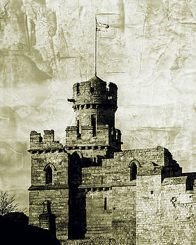 Jacek Wojnarowski - Lincoln Castle Turret Fine Art, English Castle