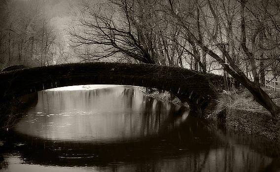 Lincoln Drive Bridge by Kim Zier