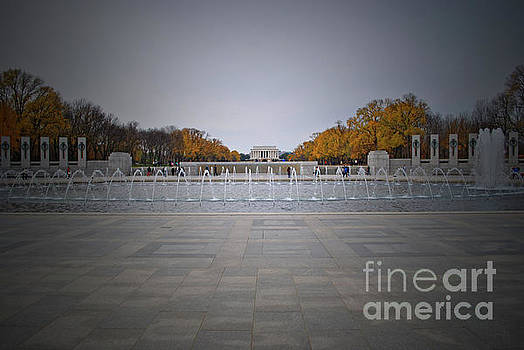 Jost Houk - Lincoln Memorial Grey of Fall