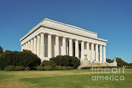 Lincoln Memorial Washington DC by Kimberly Blom-Roemer