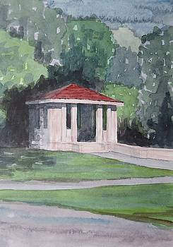 Lincoln Park Gazebo by Bethany Lee